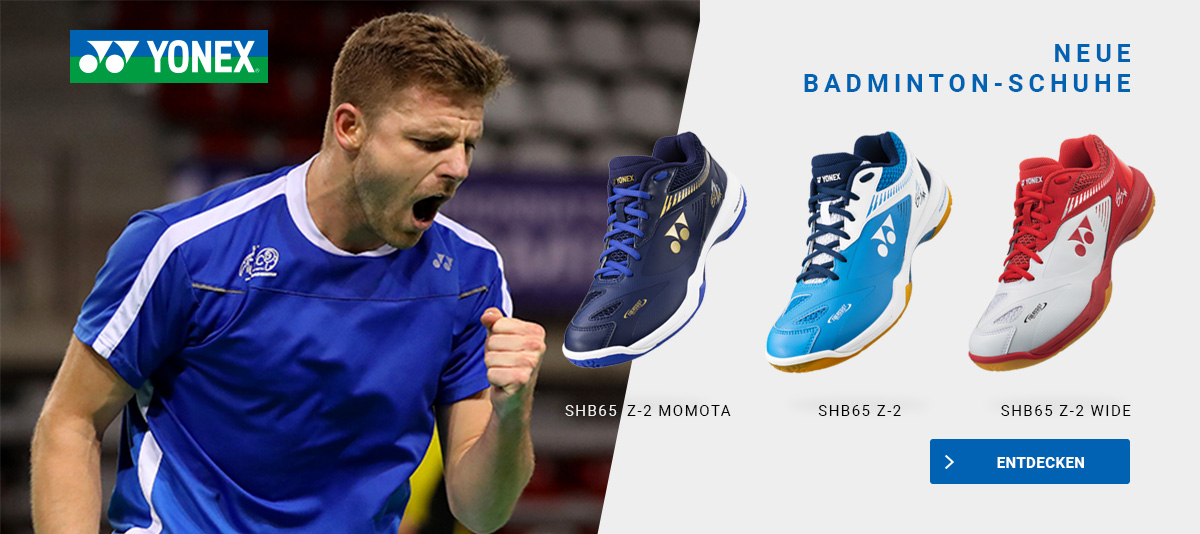 Neue Yonex Badminton-Schuhe
