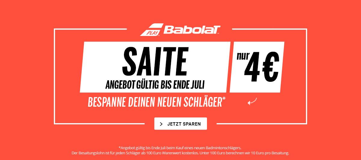 Saite Yonex nur 4 Euro bis Ende October