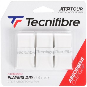 TECNIFIBRE OVERGRIPS PLAYER DRY