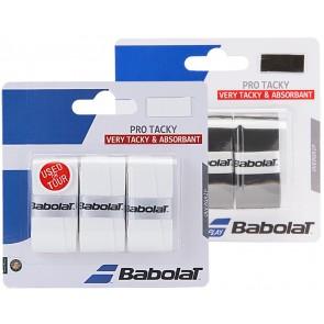 BABOLAT OVERGRIP PRO TACKY (X3)