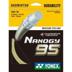 YONEX BADMINTON SAITEN NANOGY 95 (SET - 10M)