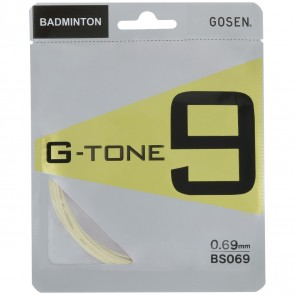 GOSEN BADMINTON SAITEN G-TONE 9 (SET - 12M)