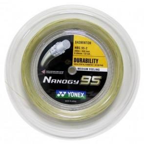 YONEX BADMINTON SAITEN NANOGY 95 (ROLLE - 200M)